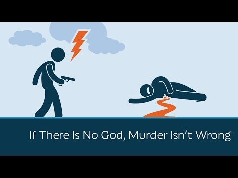 If there is no God, murder isn't wrong!