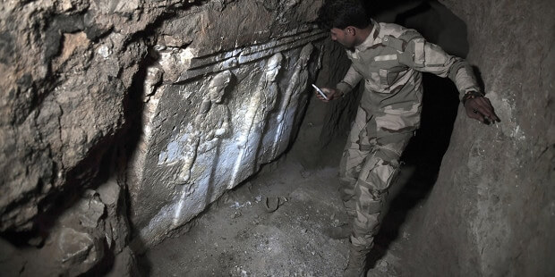 Archaeologists find Biblical evidence under Jonah's tomb